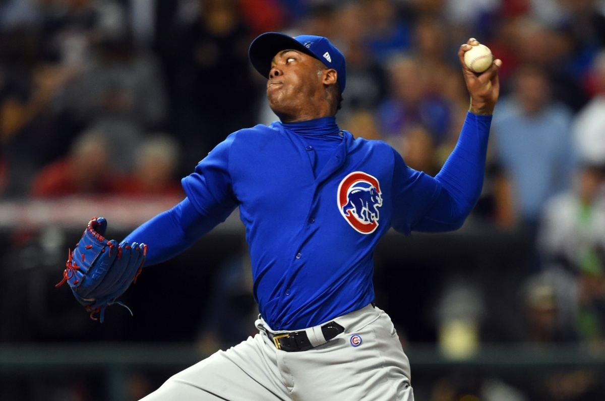 What Happened to Invincible Aroldis Chapman in Game 7?
